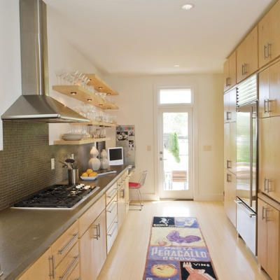 Galley Kitchen Kitchen Layouts And Essential Spaces Traditional Modern And Galley Kitchen