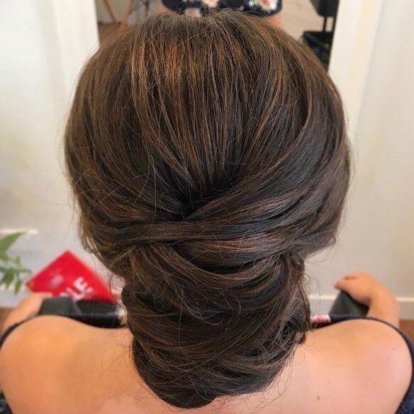A lovely elegant style for our bride Linda at her wedding hair trial  Hair by our Senior Wedding Stylist Lauren #laurenevalynparsonshair . #hair #hair...