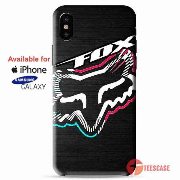 newest collection f9b95 8dce7 Fox Head Racing Sport Wear iPhone X Cases, iPhone Cases, Samsung ...