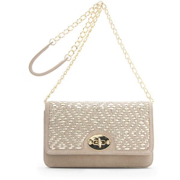MANGO Handbag ($150) ❤ liked on Polyvore