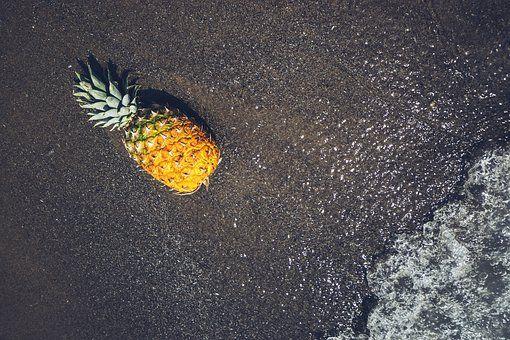 Owoców, Złota, Ananas, Piasek