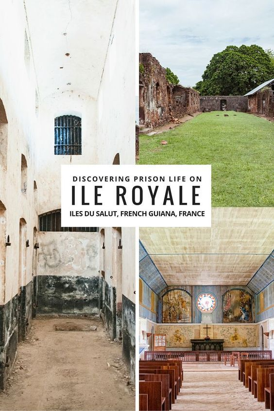 Just off the coast of French Guiana sit Les Iles du Salut, 3 islands with a dark past. I visited Ile Royale to discover what prison life was like on these Devil's Islands. #FrenchOcerseasAwards