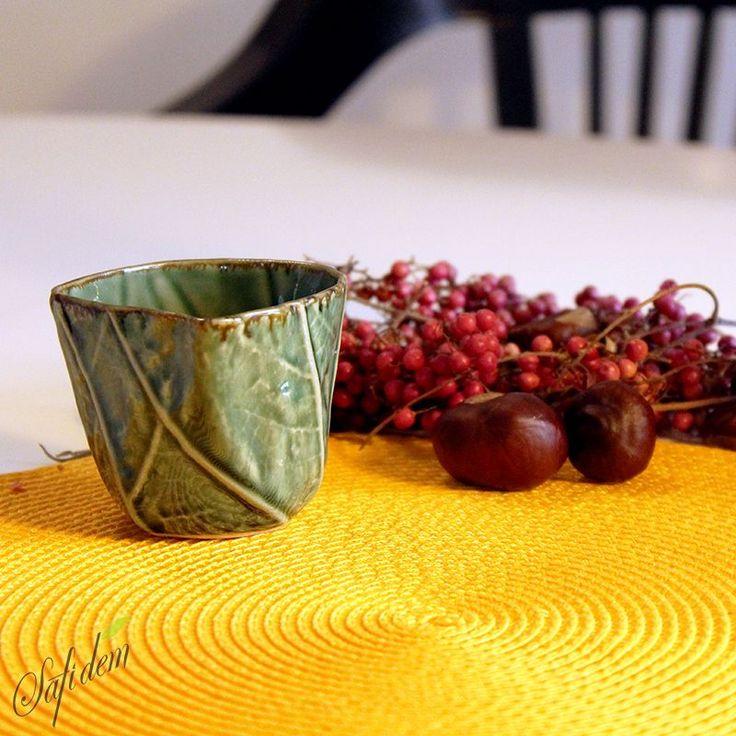 Çaya Giden Yol Özel Tasarım  Çay Kasesei www.safidem.com'da!