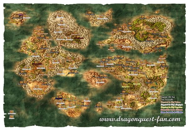 Dragon Quest 8 World Map Dragon Quest 8 World Map dragon quest 8 world map dragon quest 8