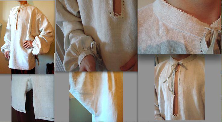 Сорочка пошита вручну з домотканого полотна. Приватна власність замовника