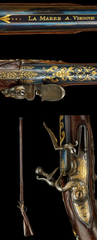 Flintlock musket, österr.um 1690 LaMarre