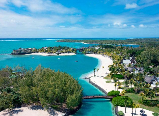 (Shangri-Las Le Touessrok Resort and Spa) These Magical Hotels Will Inspire You To Book A Holiday: Best for privacy: Shangri-La's Le Touessrok Resort and Spa, Mauritius-This little piece of paradise has been described as 'Mauritian perfection'.  Shangri-La's Le Touessrok Resort and Spa offers everything you would expect from a luxury resort – wonderful sea views from every room, a cool contemporary style and exemplary service – and far more besides.