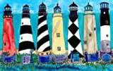 Lighthouses in NC: Lighthouses Lite, Beach Art, Lighthouse Artwork, Beach Stuff, Carolina Lighthouses, Lighthouses Grand Monuments, Beacon, Craft Ideas, North Carolina