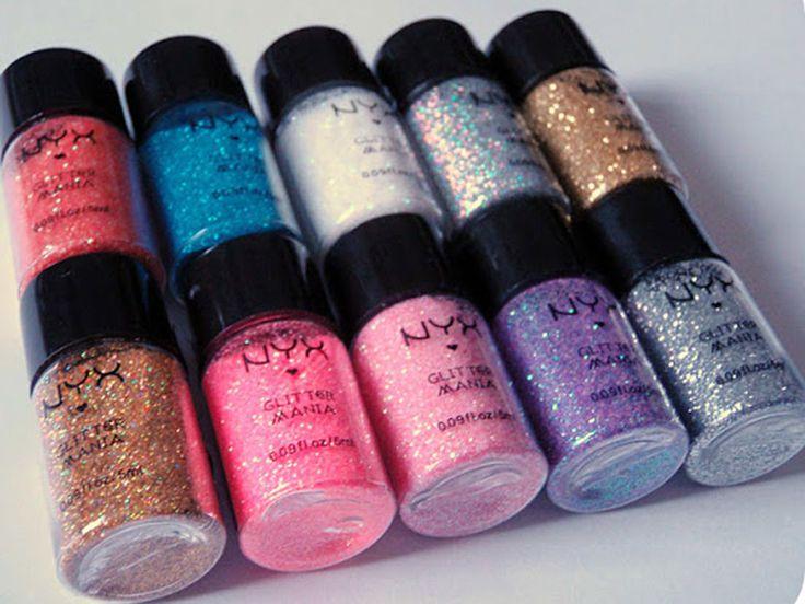 Venda Maquiagem Importada | NYX Glitter Mania Powder | Necessaire Cosméticos