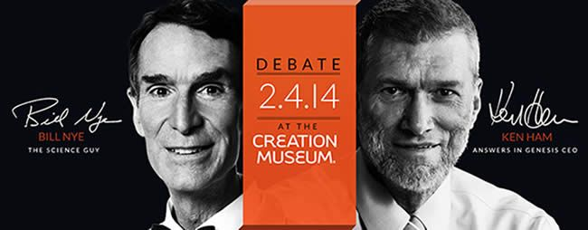 Bill Nye/Ken Ham Debate on February 4 @ 7 PM will be available for live streaming (free!). Don't miss this GIANT event! So awesome how much ground this debate is getting nationally…tickets sold out in 2 minutes!