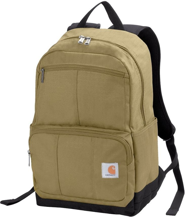 """Carhartt D89 Backpack (Khaki): For today only, Meh is offering the Carhartt D89 16"""" Backpack (Khaki) for $22.00 plus… #coupons #discounts"""