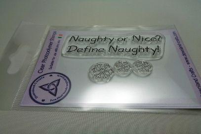 Define Naughty Stamp