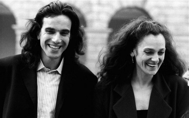 A young Daniel Day-Lewis with his older sister Tamasin Day--Lewis a documentary filmaker and tv chef.