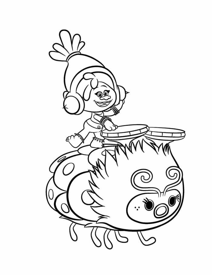 Trolls Coloring Page For Kid Aˆs 24 Poppy Trolls Coloring Page In 2020 Poppy Coloring Page Monster Coloring Pages Cartoon Coloring Pages
