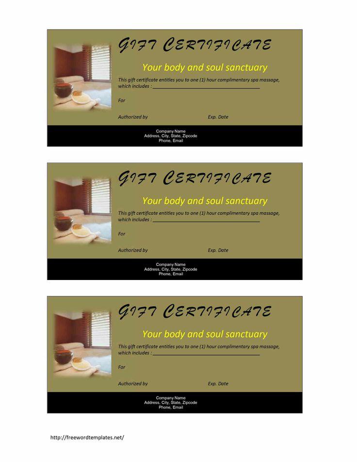 12 best spa essentials images on pinterest gift certificates valentine massage gift certificate template gift certificate non cash value 791x1024 spa gift certificate template yadclub Images