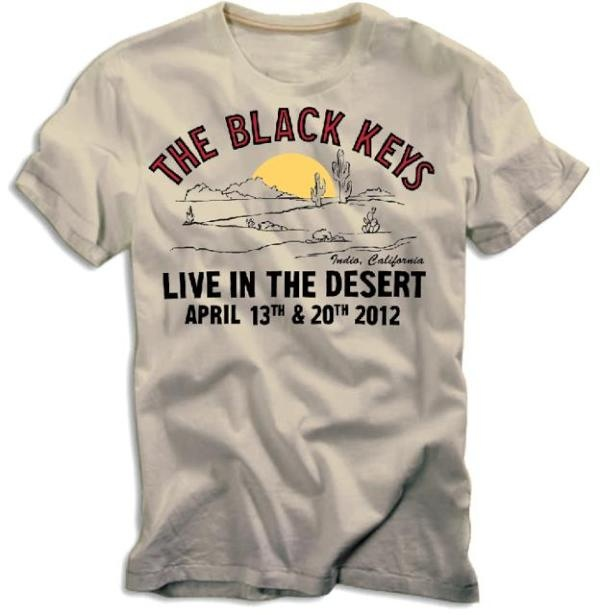 Black Keys Coachella T Shirt Vagary Pinterest Coachella Key