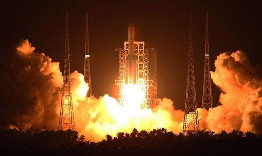 Tähdet ja avaruus: Kiina laukaisi kaikkien aikojen suurimman rakettinsa