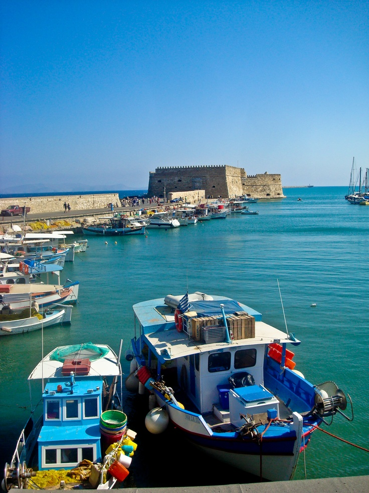 Heraklion, Crete island, Greece  http://www.vacationsmadeeasy.com/HeraklionGreece