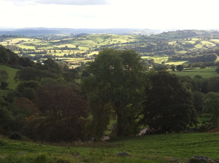 View from Tan Y Craig, Oswestry, U.K. Oswestry, Natural