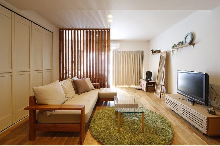 リフォーム・リノベーションの事例|リビング|施工事例No.308ふたりにぴったりの木の温もりと光に溢れた住まい|スタイル工房