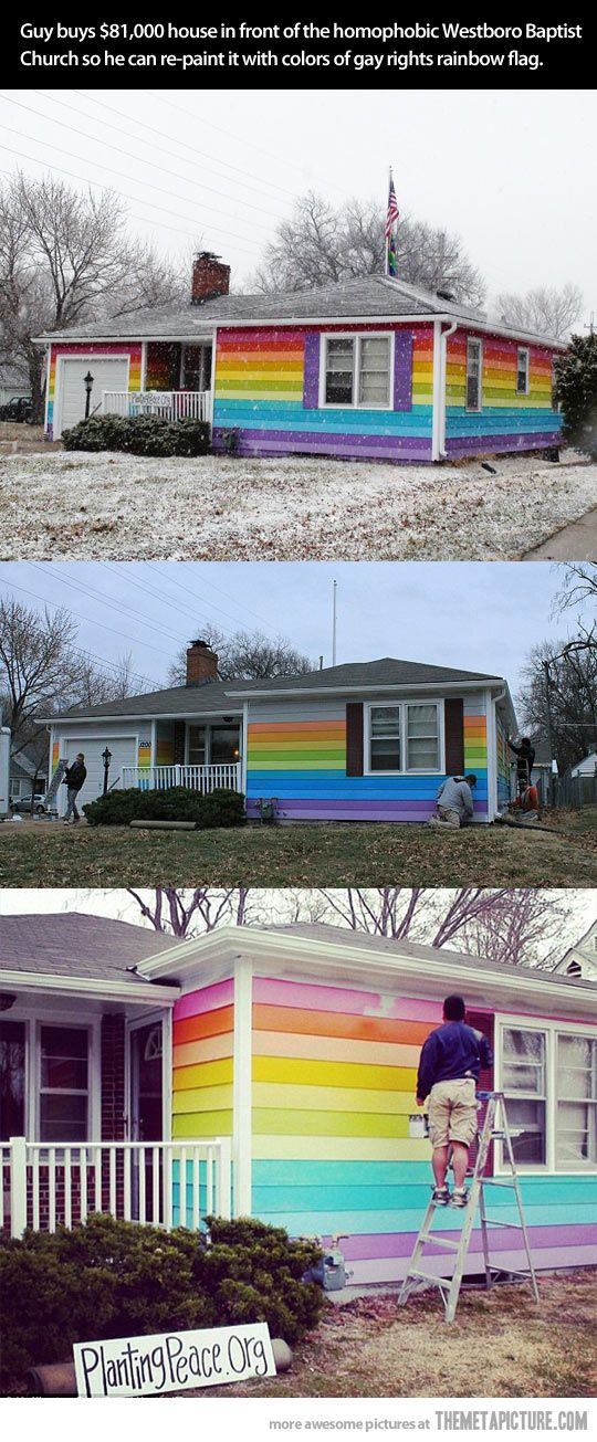 Best thing you can do to the Westboro Baptist Church…