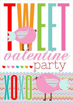 free valentine's day printable! free printables, valentines day, party box design, chevron