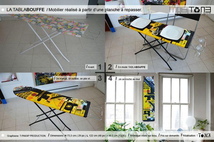 La Tablabouffe. Création de l'artiste-peintre Tone. www.t-pakap.net