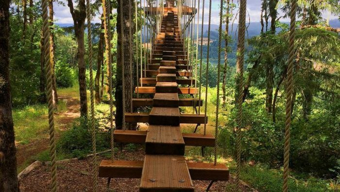There's An Adventure Park Hiding Near Portland And You Need To Visit