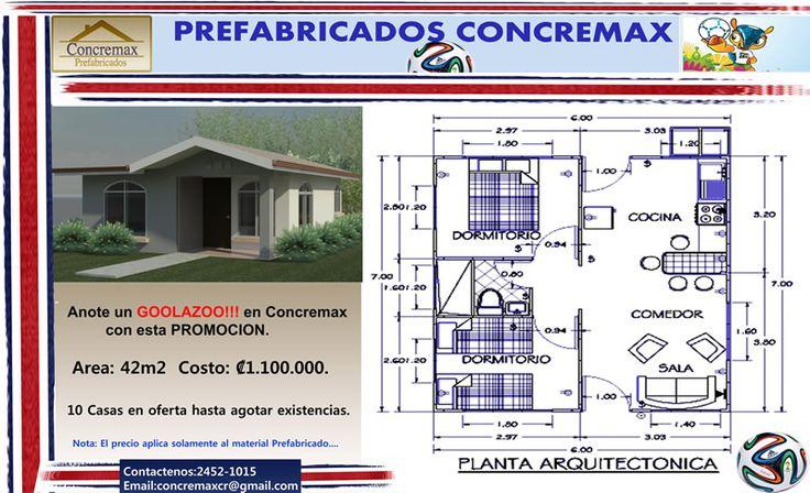 Casas prefabricadas costa rica prefabricado modelo precios - Modelos de casas prefabricadas ...