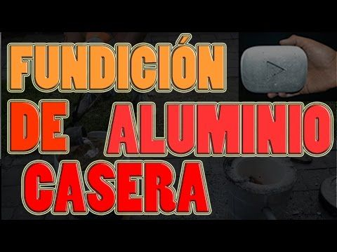Fundición de Aluminio casera! DIY vaciado en aluminio! con latas de refresco! | NQUEH - YouTube