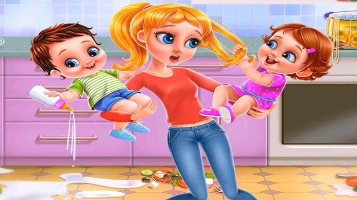 Fun Baby Care Kids Game - Babysitter First Day Mania – Fun Play Dress Up...