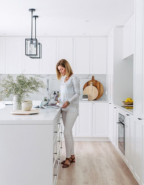White kitchen - Hannah Blackmore, a wedding and lifestyle photographer based in Sydney, Australia.