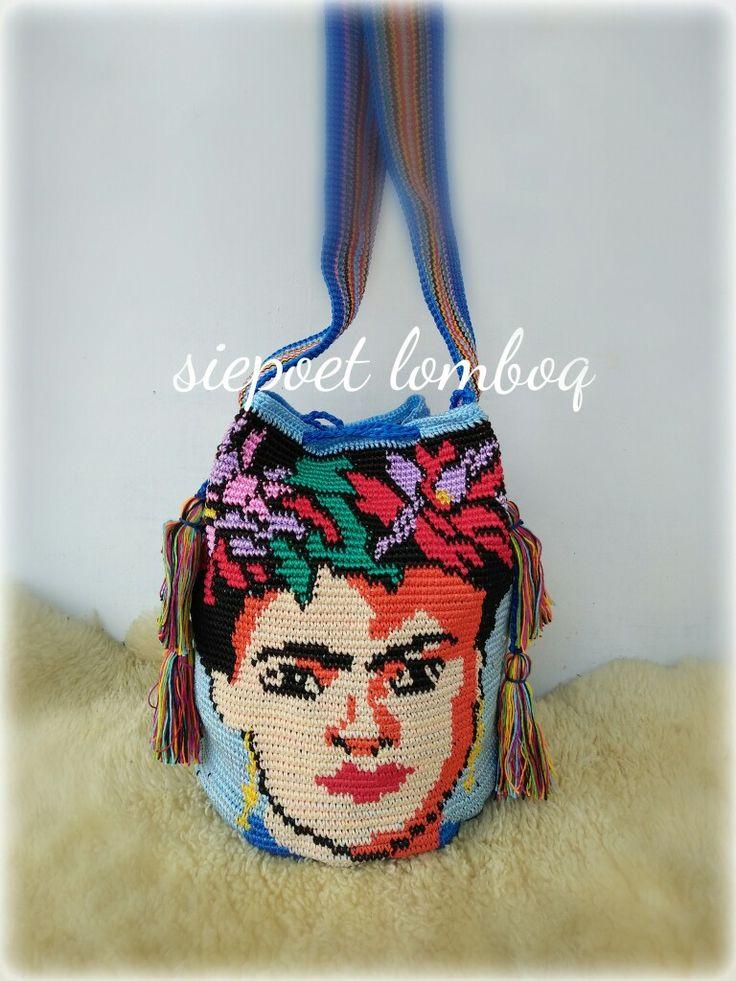 Crochet tapestry...bag