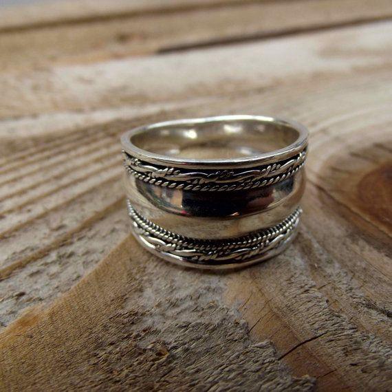 925 sterling silver men ring men silver ring by silveringjewelry