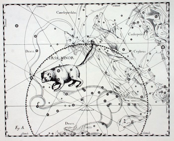 UMI #Orsa Minore (Latin #Ursa #Minor, #Ursae #Minoris, #UMi) is a northern constellation already listed by Ptolemy. It contains an asterism called #Little #Dipper. #Polaris #Star, α Ursae Minoris is almost coincident with the north #celestial #pole.