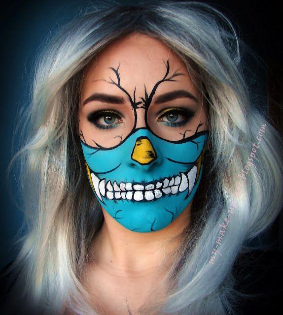 My Make Up Art : Maska komiksowego wilkołaka.