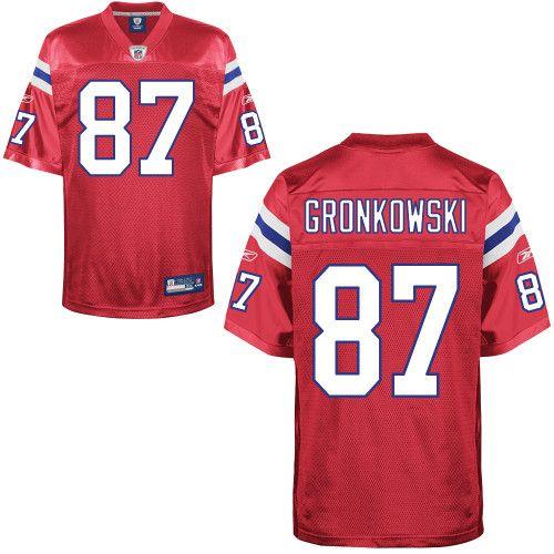 gronkowski replica jersey