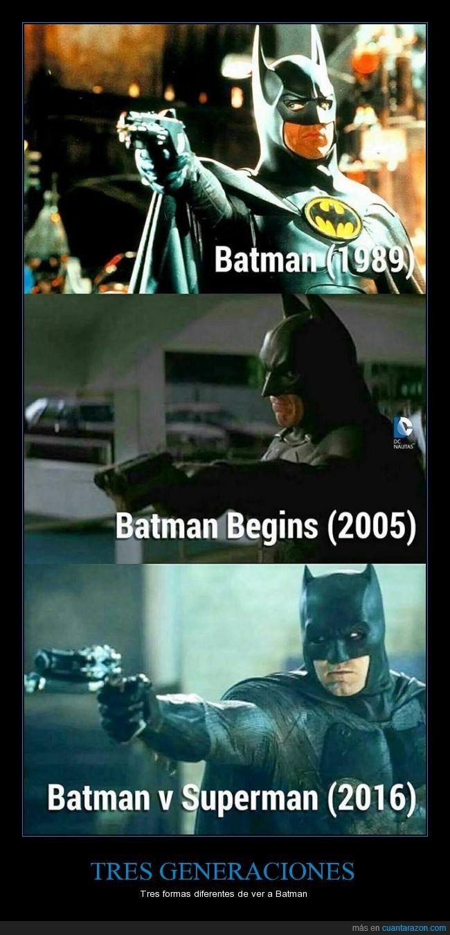 Este Batman se ha comido demasiados.... ¿qué comen los murciélagos? - Tres formas diferentes de ver a Batman