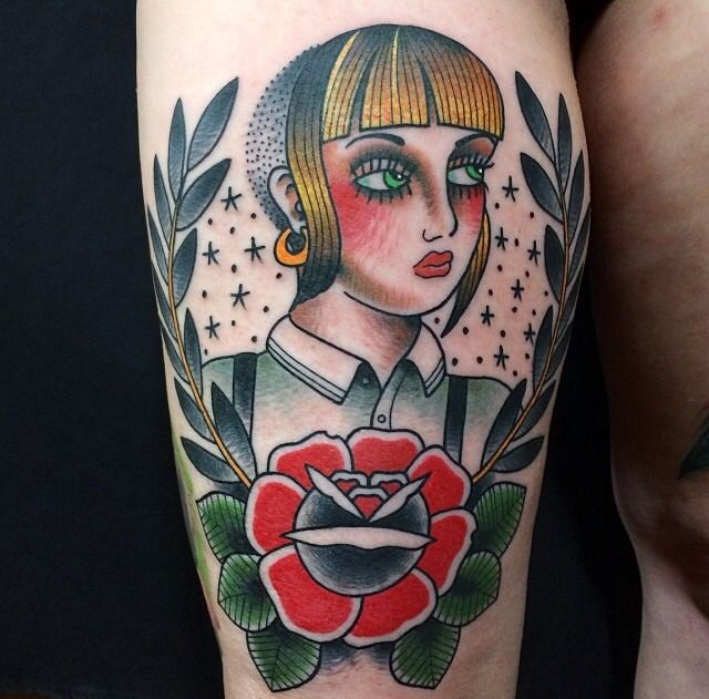 Fuck yeah! Skinhead tattoos : Photo