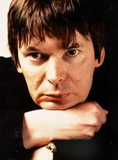 Ian Rankin. Okay, I admit I haven't read his works yet, but Ian Rankin comes highly recommended by  Anthony Bourdain (he can make even  bacon sound good - I hate bacon), and I tend to listen to what AB has to say. I sat down with a Rankin novel, &, all influences aside, have to say I'm now sucked in. Besides, just look at this guy! That ALONE is an intense experience (I feel a S. King vibe coming on)...