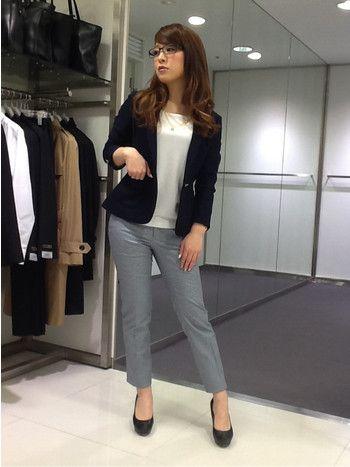☆GINGER掲載セットアップスーツのジャケットを着回し!☆~新潟ラブラ万代店