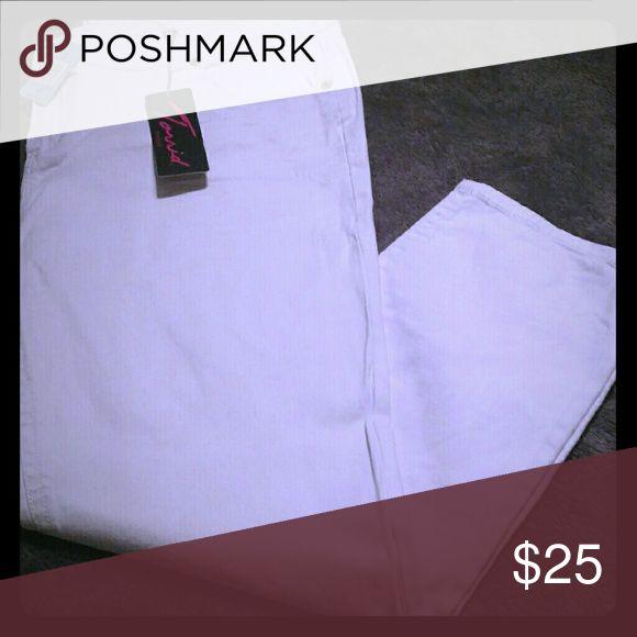 White jeans Torrid skinny/straight white denim torrid Jeans Skinny