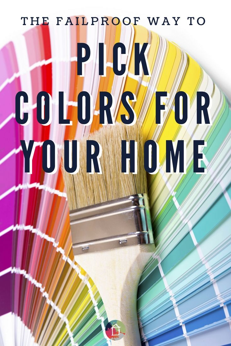 Picking paint colors for your home doesn't have to be hard! This failproof formula works every time! Learn how to pick paint colors once and for all.