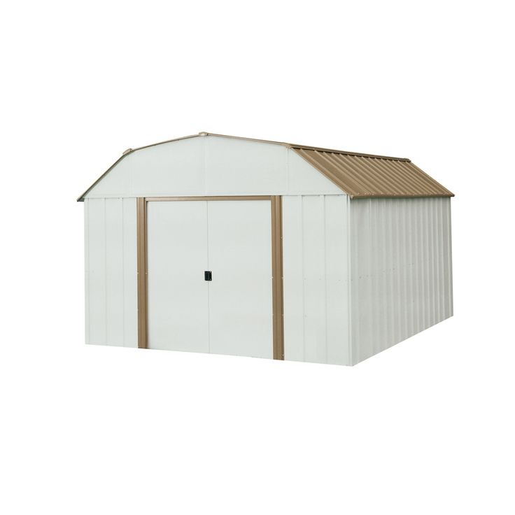 Arrow Galvanized Steel Storage Shed (Common: 10 Ft X 14 Ft;
