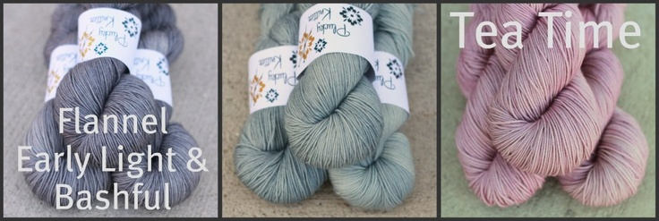 Color Affection Kits - Plucky Feet :: Plucky Feet Color Affection Kit - Tea Time - The Plucky Knitter SHOP, hand dyed yarn, knitting.