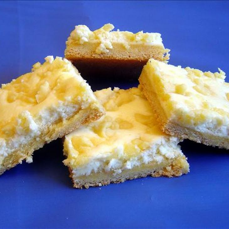 Lemon Cheesecake Bars | Bars/Brownies | Pinterest