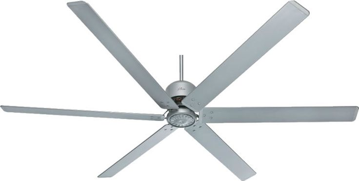 "Hunter 28743 6 Blade or 3 Blade 96"" Industrial Fan  Contemporary Ceiling Fans - Brand Lighting Discount Lighting - Call Brand Lighting Sales 800-585-1285 to ask for your best price!"