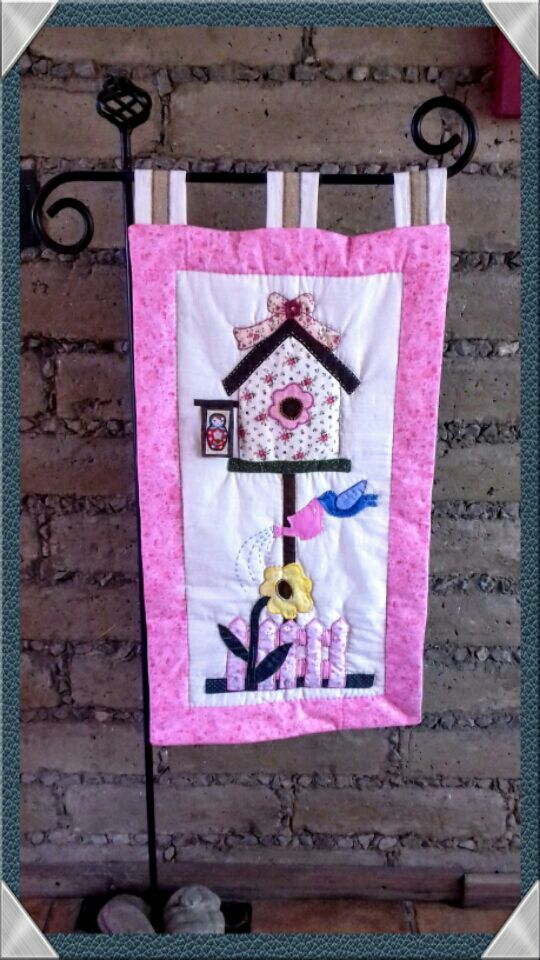 Made by Pili Lozano. Patchwork & Quilting by Vero Padilla