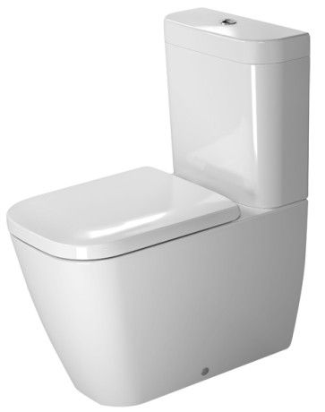 Happy D.2 Toilet close-coupled #213409 | Duravit