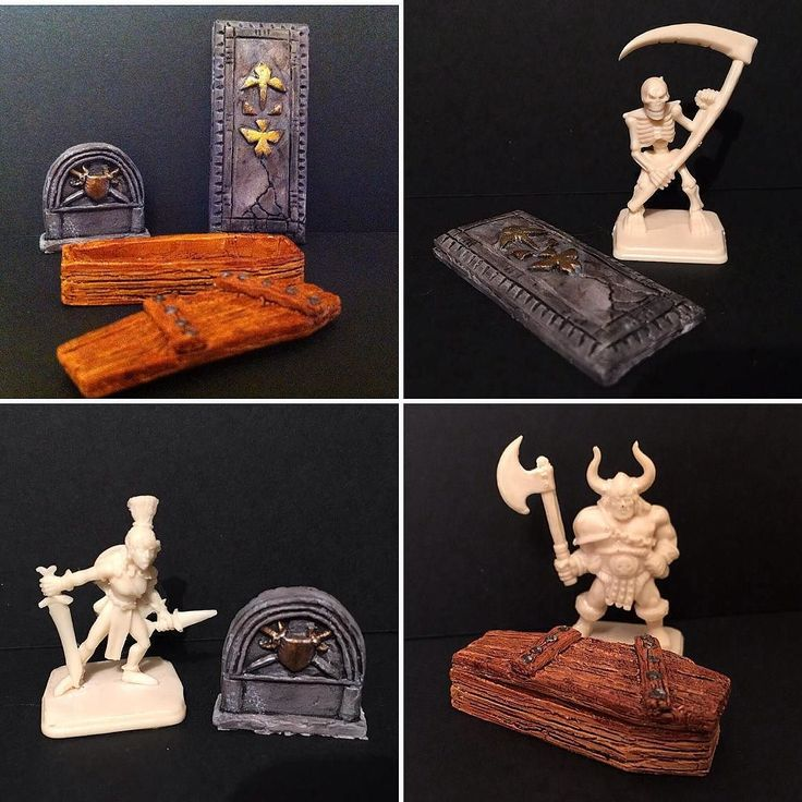 You'd like this one by heroquestxp #heroquest #microhobbit (o) http://ift.tt/2aoyDKl I've painted some furnitures made by a friend of the Italian Heroquest Community. It's a little funeral set for dungeons: a wood coffin a tombstone and a grave. Soon on Ebay!   #quest #dungeon #furniture #new #model #handmade #sculpting #paint #miniature #instagood #fantasy #instadaily #instagram #todayspic #commission #friends #gift #play #boardgames